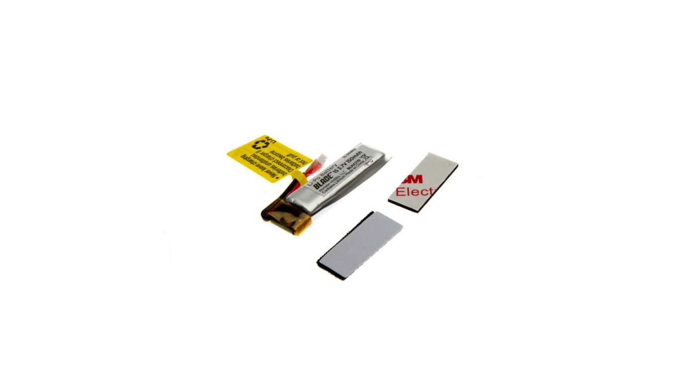 Image for 150mAh 1S 3.7V 45C LiPo Battery: 70 S from HorizonHobby