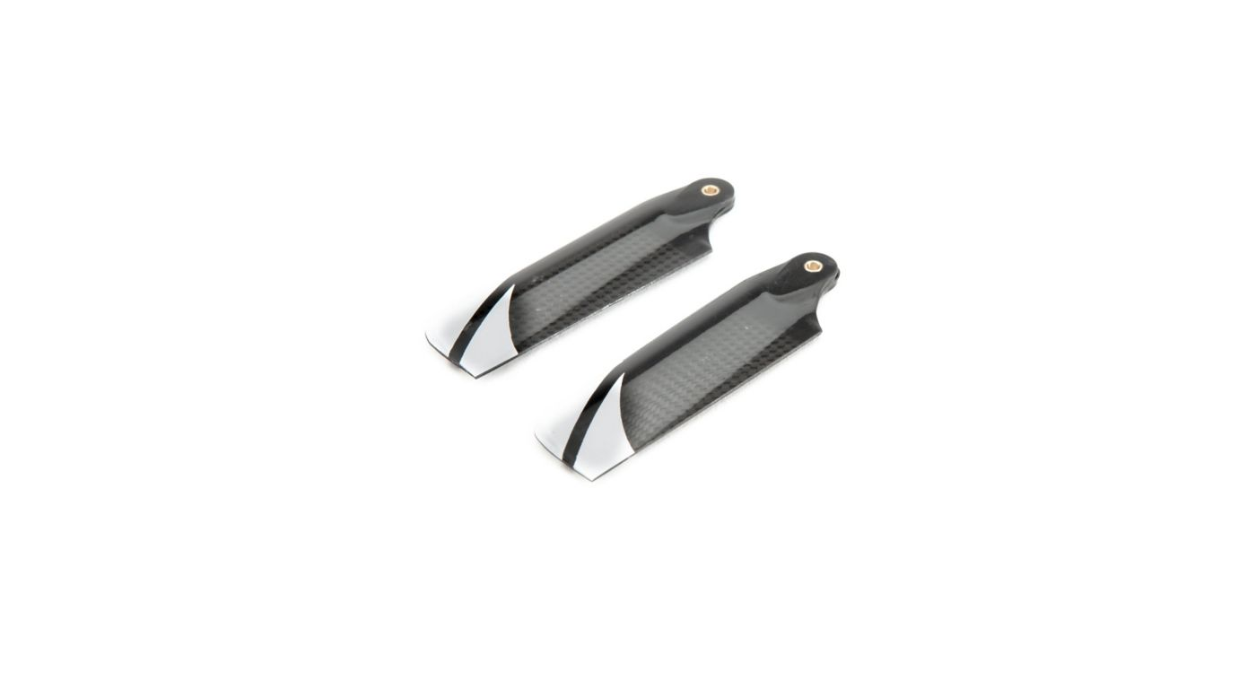 Image for Option Carbon Fiber Tail Blades (2): 270 CFX from HorizonHobby