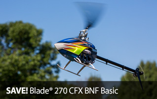 Horizon Outlet Blade 270 CFX BNF Basic Heli Helicopter