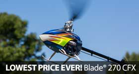 Save on Blade 270 CFX Sale