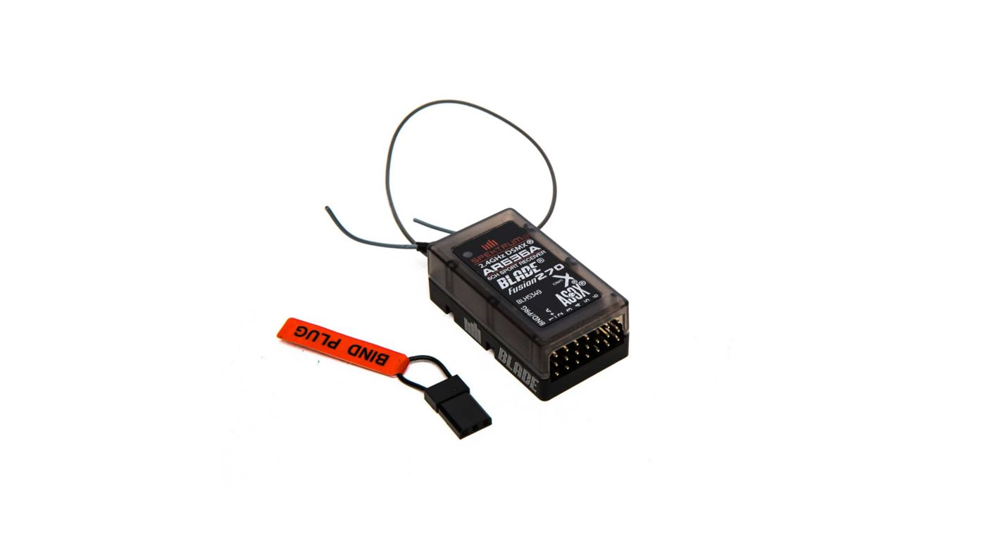 Image for Replacement Receiver: Fusion 270 from HorizonHobby