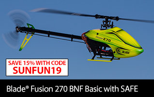 Blade Fusion 270 BNF Basic with SAFE Technology RC Helicopter