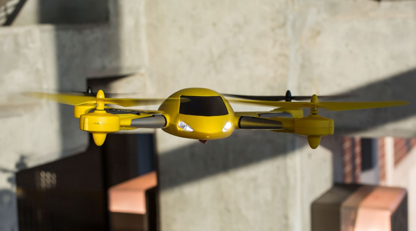 Image for Zeyrok Drone RTF with SAFE Technology, Yellow from HorizonHobby