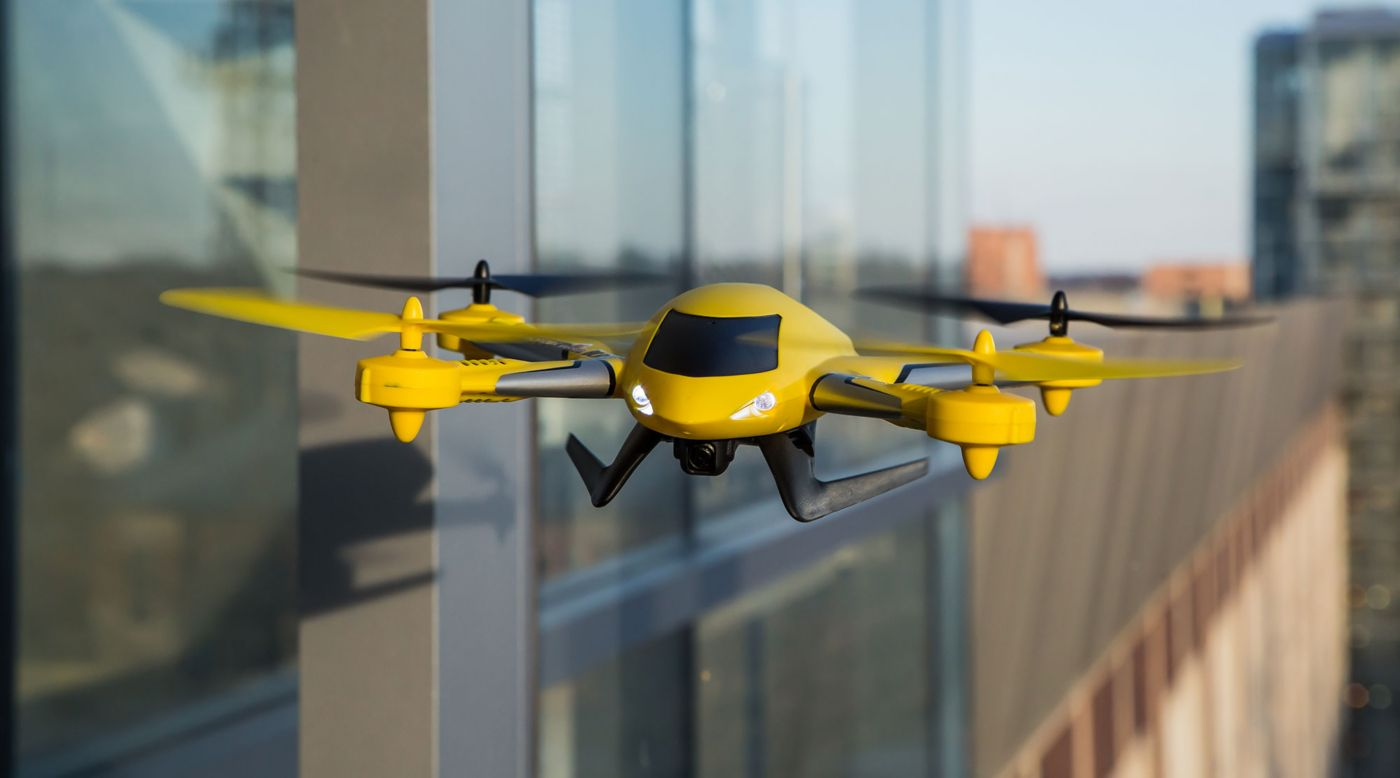 Image for Zeyrok™ Drone RTF with Camera & SAFE® Technology, Yellow from HorizonHobby