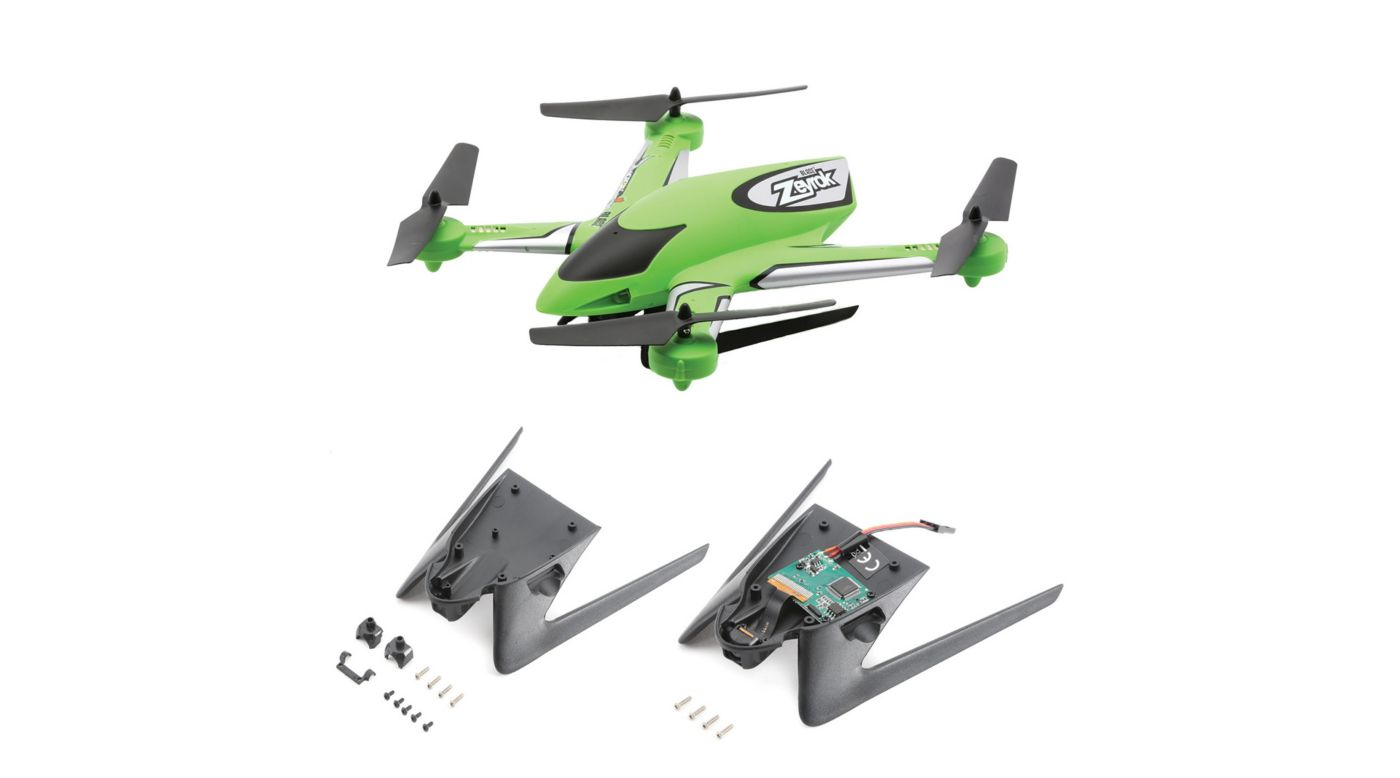 Image for Zeyrok BNF with Camera and Landing Gear, Green from HorizonHobby