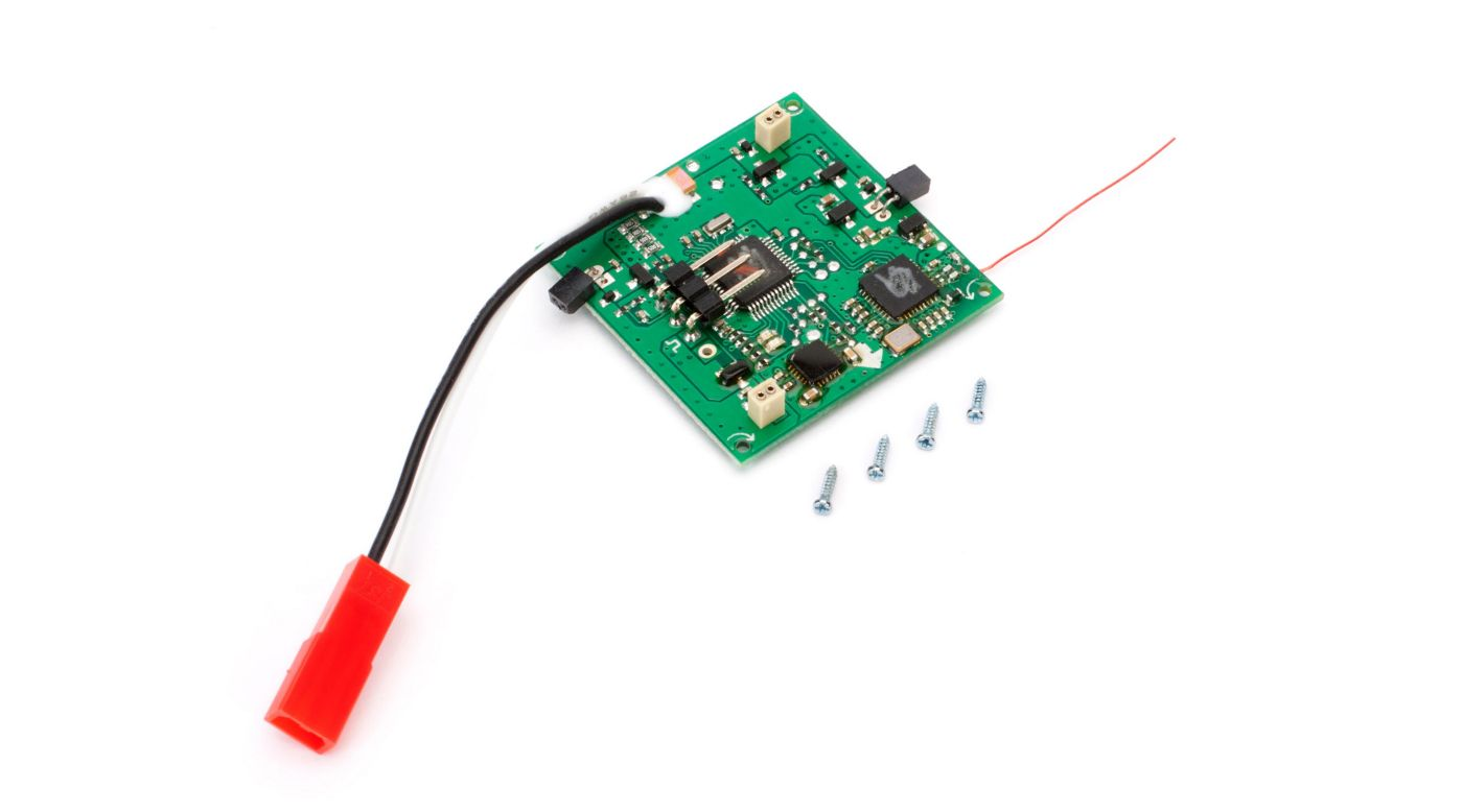 Image for 5-in-1 Ctrl Unit, Rx/ESC/Mix/Gyros/Ch6: 180 QX HD from HorizonHobby