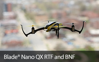 Blade Nano QX RTF and BNF Basic Micro Indoor RC Quadcopter