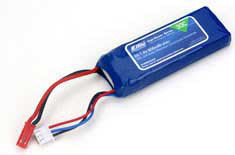 E-flite 800mAh 2S 30C LiPo Battery