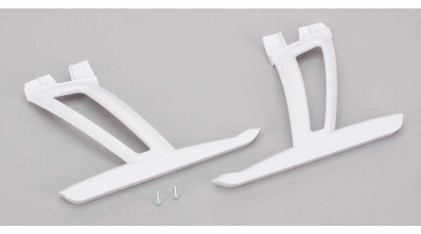Image for Landing Gear Set with Hardware, White: 350 QX from HorizonHobby