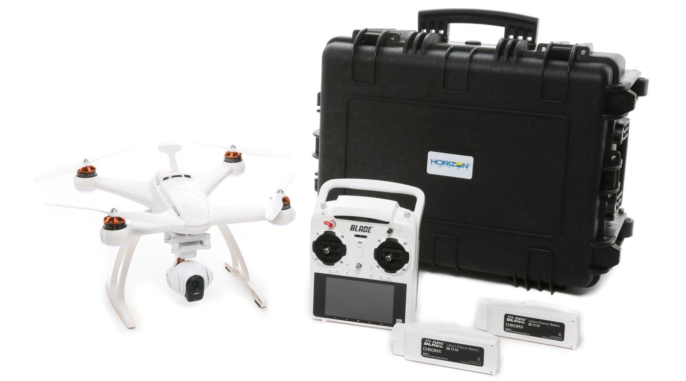 Image for Chroma 4K Camera Drone Flight Case Bundle: RTF from HorizonHobby