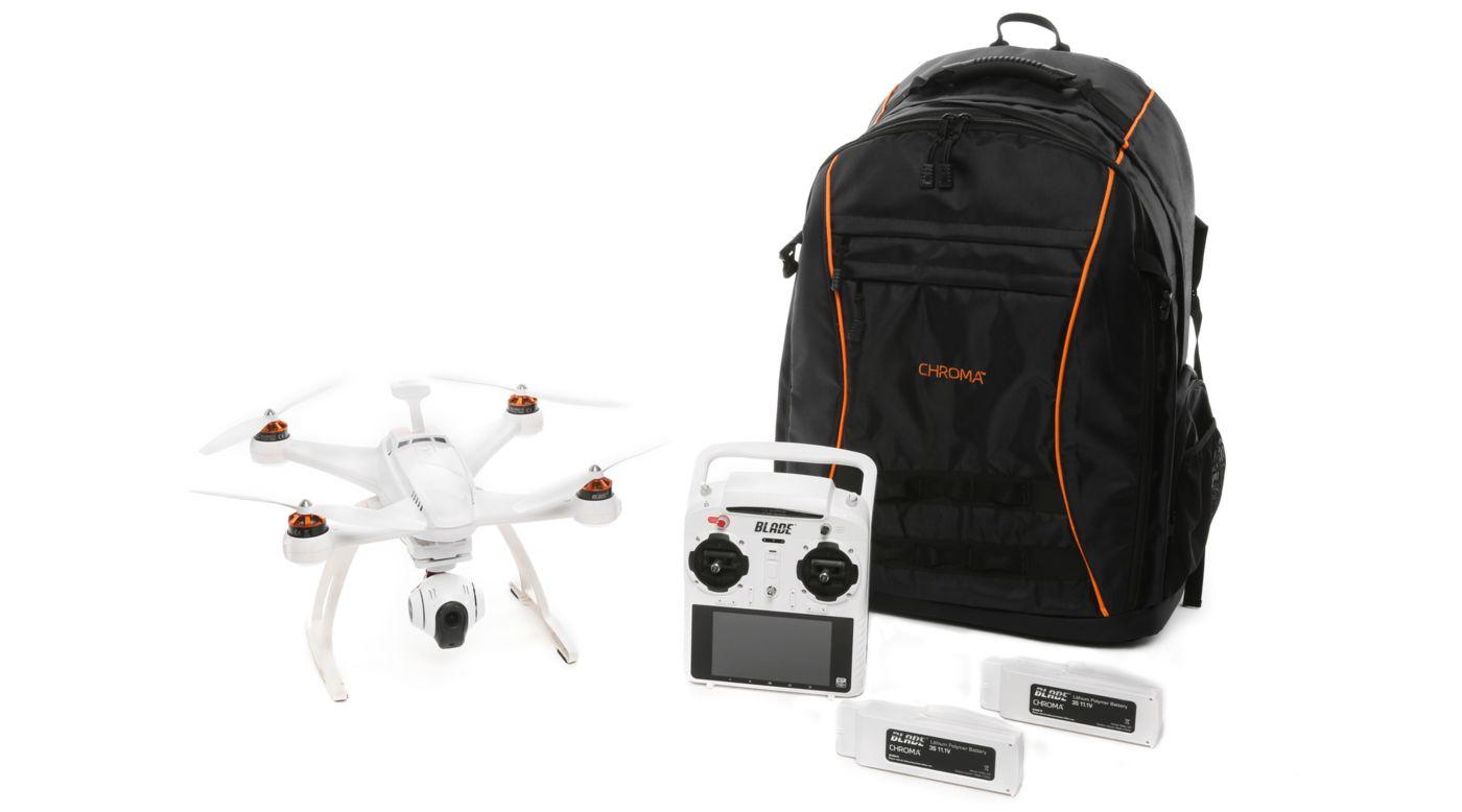 Image for Chroma 1080p Camera Drone Backpack Bundle: RTF from HorizonHobby