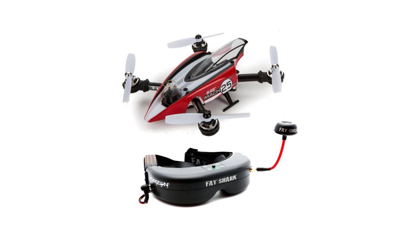 Image for Mach 25 and Teleporter V4 Video Headset Bundle from HorizonHobby