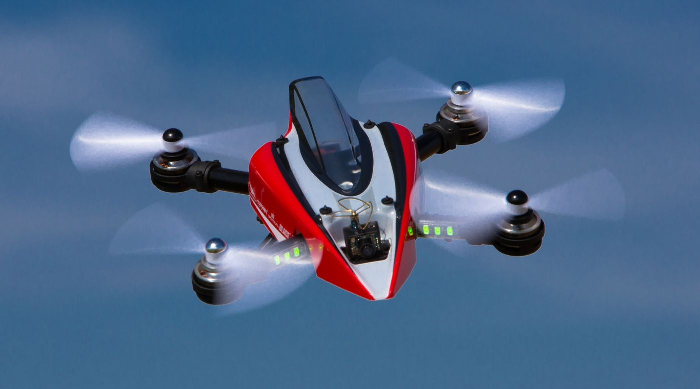 Image for Mach 25 FPV Racer BNF Basic with SAFE Technology from HorizonHobby