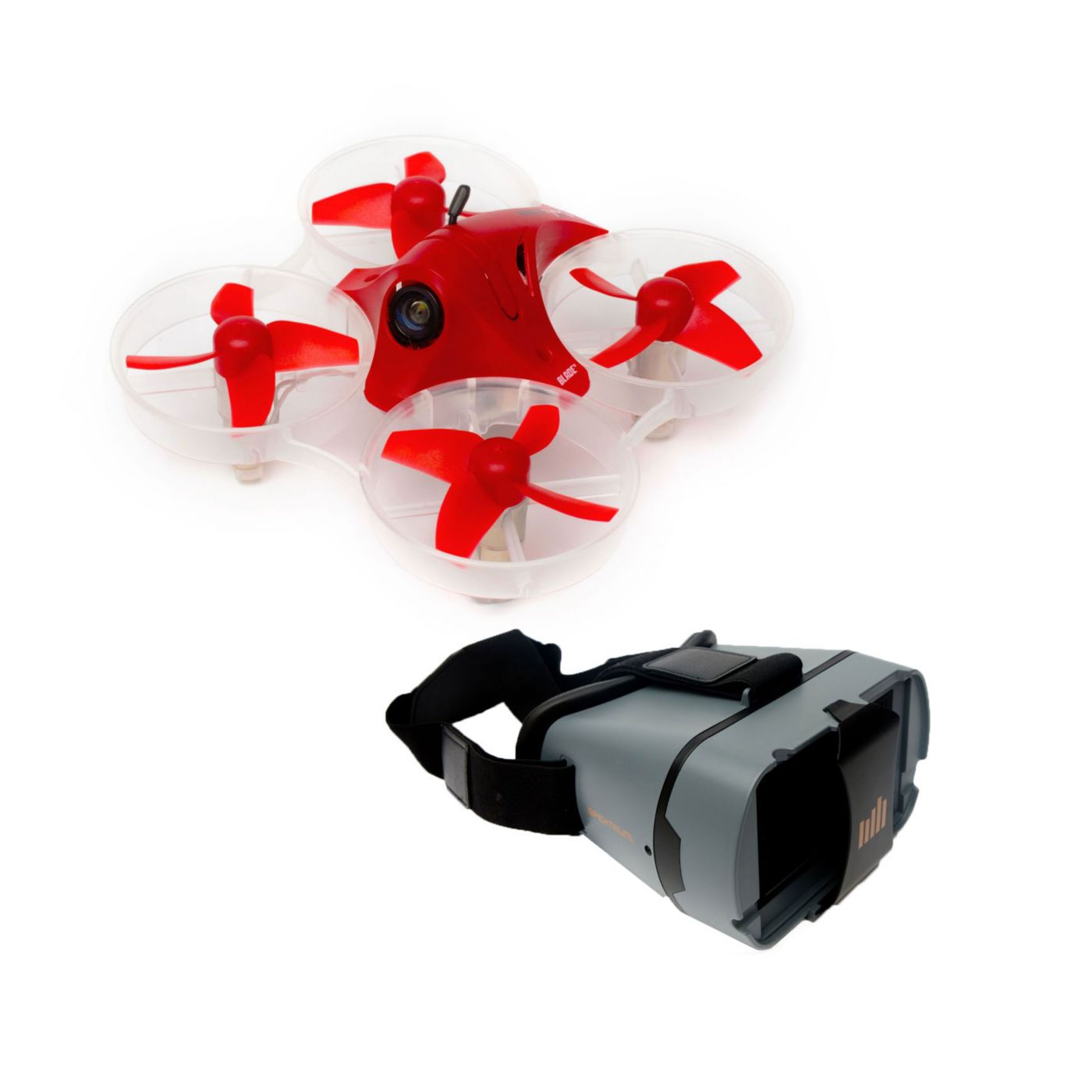 Inductrix FPV + RTF with Headset Conversion