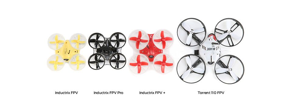 Blade Inductrix FPV size