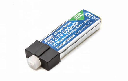 Replaceable LiPo battery