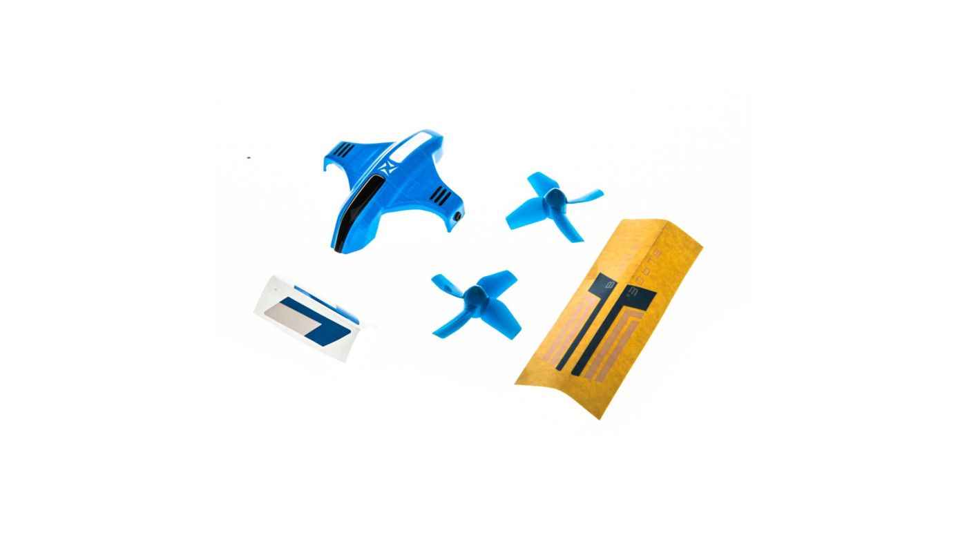 Image for Canopy Option Set with Props, Blue: Inductrix Switch from HorizonHobby
