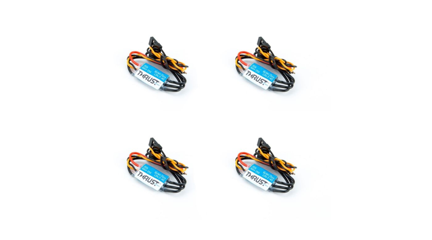 Image for 20A ESC BLHeli FPV Opto Quad Pack (4) from HorizonHobby