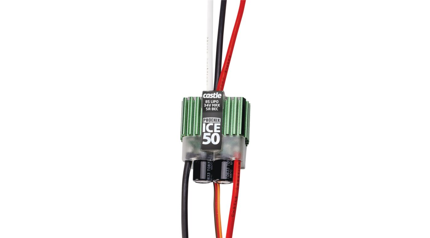 Image for Phoenix ICE 50 BL ESC from HorizonHobby