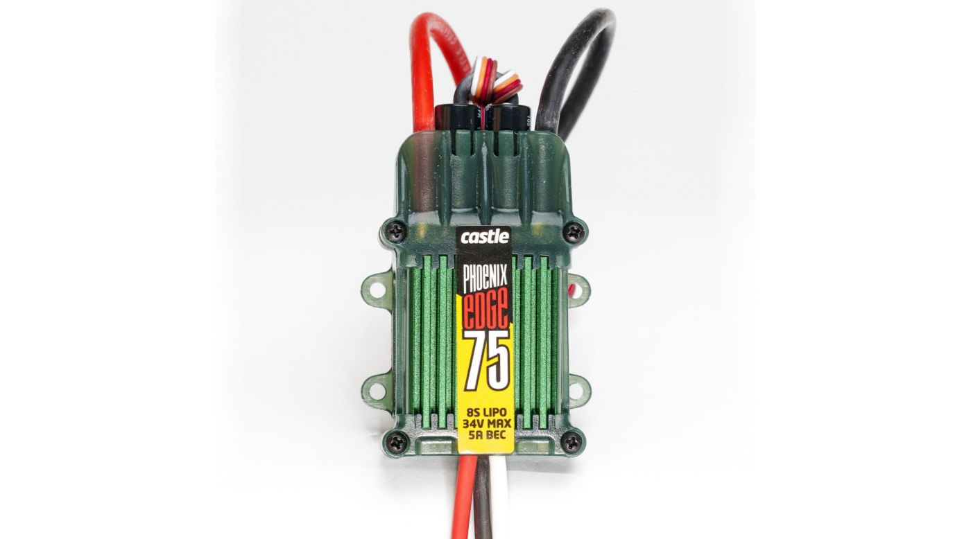 Image for Phoenix Edge 75, 34V 75-Amp ESC w/ 5-Amp BEC from HorizonHobby