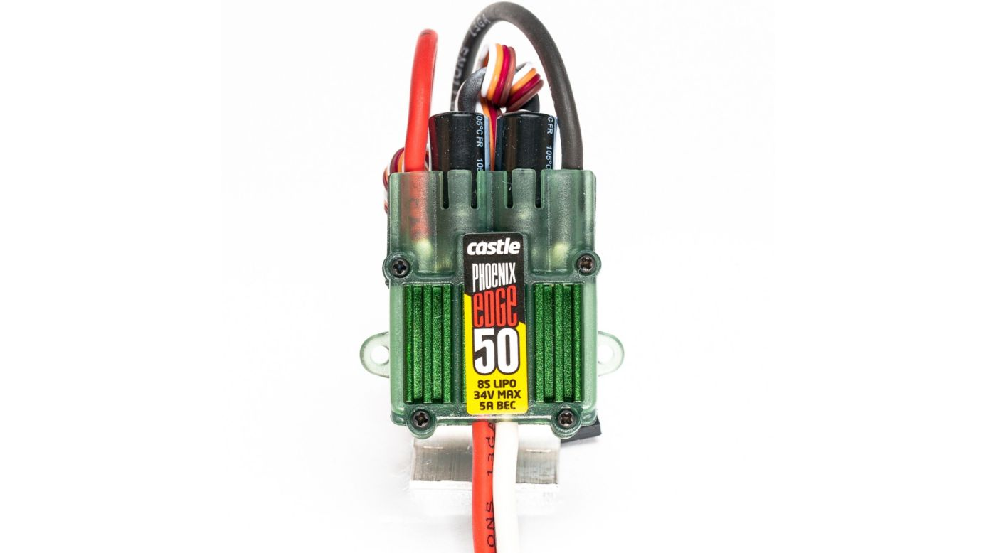 Image for Phoenix Edge 50, 34V 50-Amp ESC w/ 5-Amp BEC from HorizonHobby