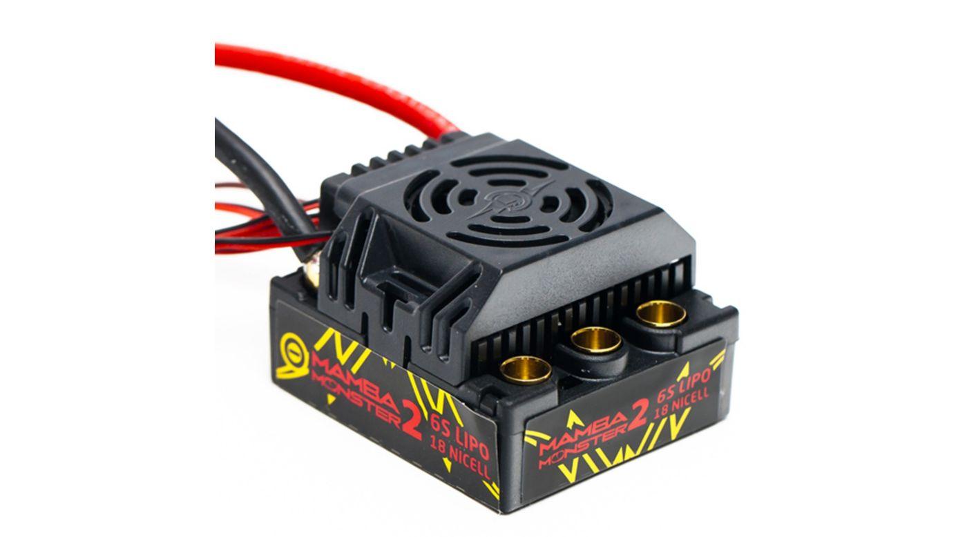 Image for 1/8 Mamba Monster 2 25V ESC, Waterproof from HorizonHobby
