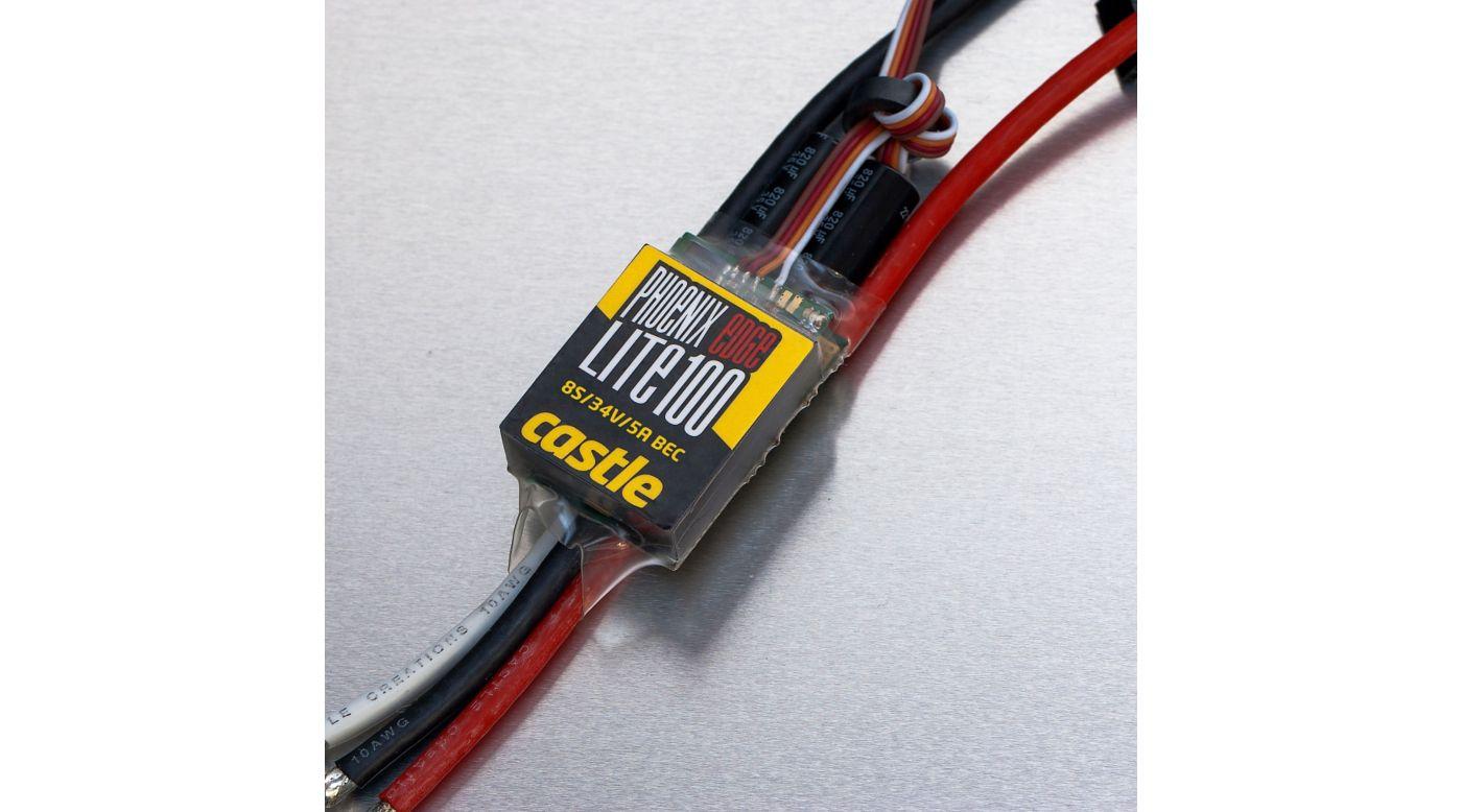 Image for Phoenix Edge Lite 100, 34V 100-Amp ESC w/ 5-Amp BEC from HorizonHobby