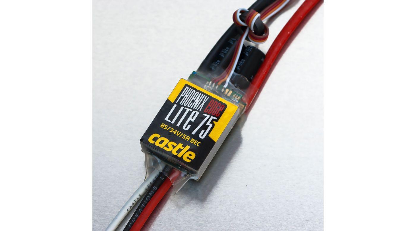 Image for Phoenix Edge Lite 75, 34V 75-Amp ESC w/ 5-Amp BEC from HorizonHobby