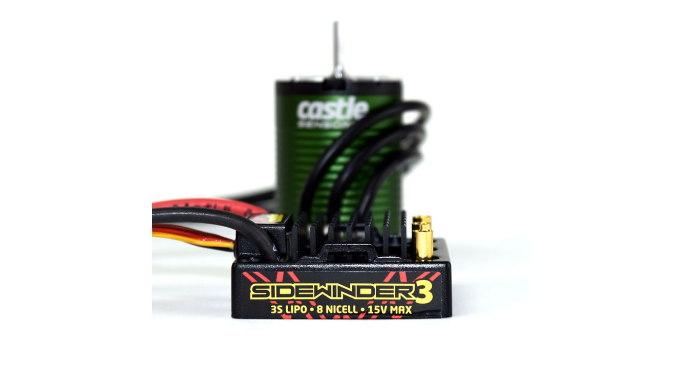 Image for SV3 Sidewinder 12V Waterproof ESC with  1406-6900Kv Sensored Motor Combo from HorizonHobby