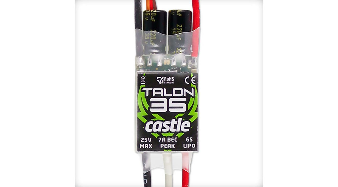 Image for Talon 35-Amp 25V ESC w/7-Amp BEC from HorizonHobby