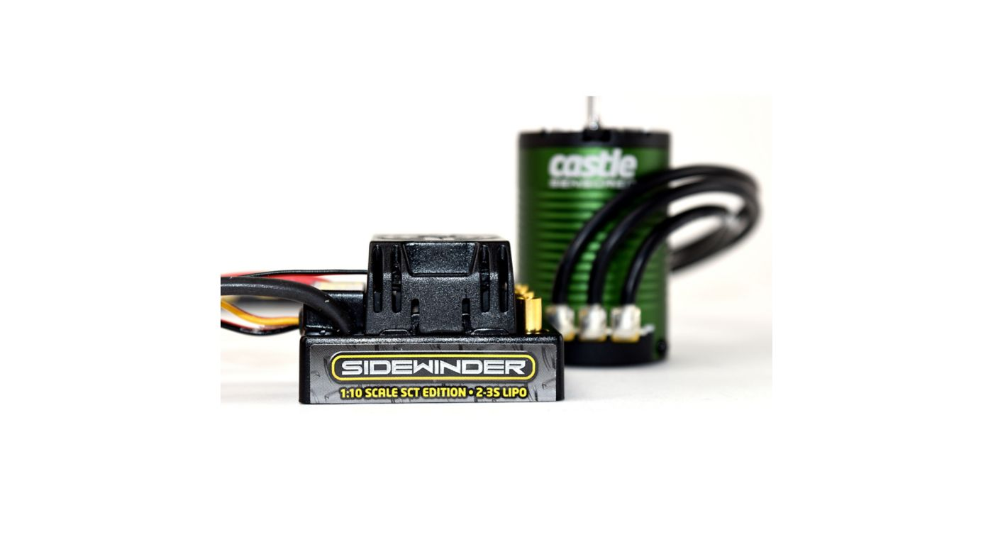 Image for Sidewinder SCT Waterproof ESC with 1410-3800Kv Sensored Motor Combo from HorizonHobby