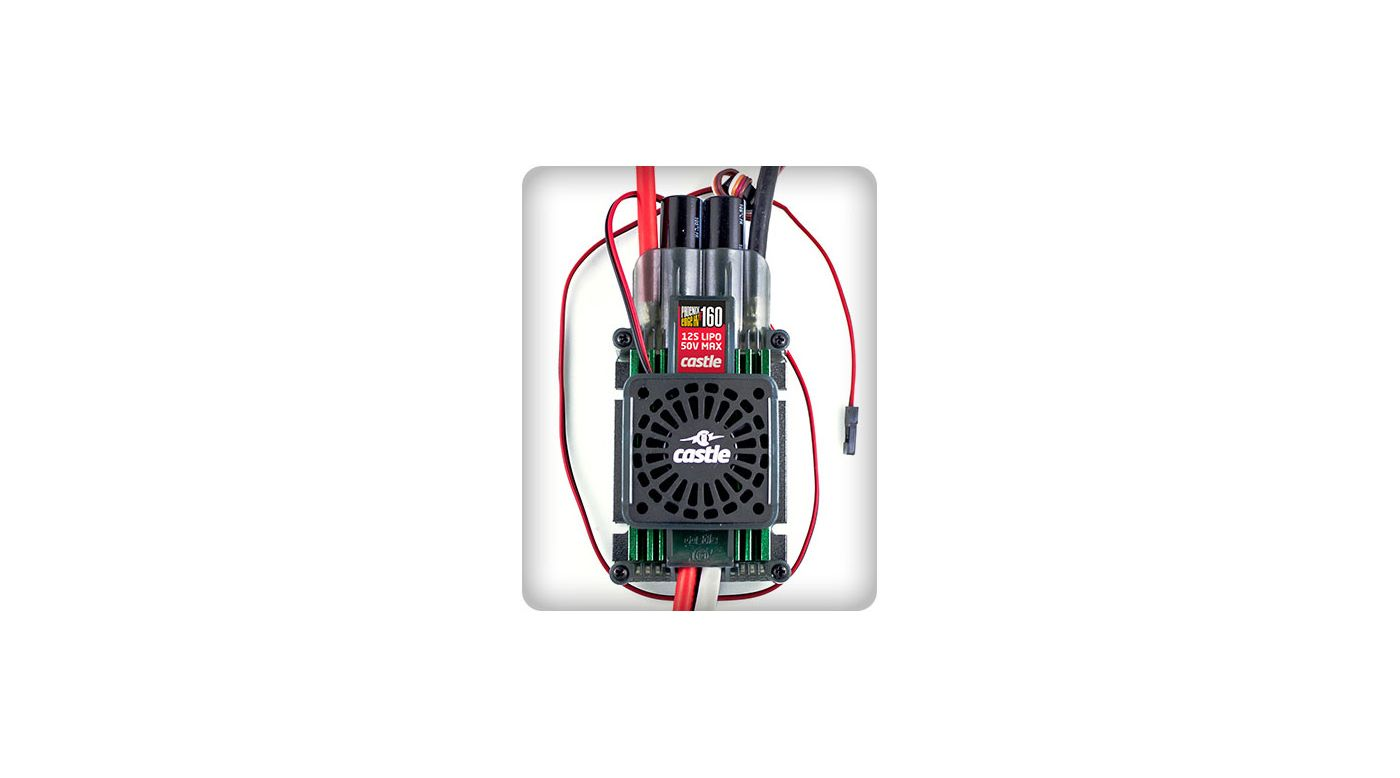 Image for Phoenix Edge HVF 160 w/Fan 50V 160-Amp ESC from HorizonHobby