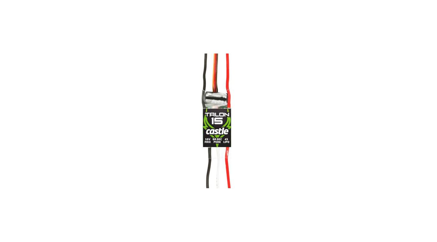 Image for Talon 15-Amp 17V ESC w/8-Amp BEC from HorizonHobby