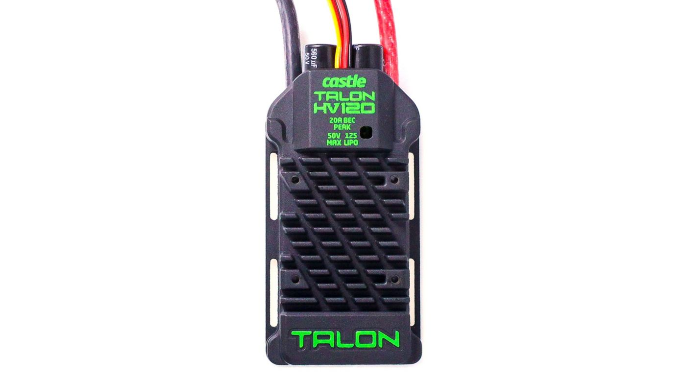 Image for Talon 120HV ESC 120AMP,  12S Max Heavy Duty BEC from HorizonHobby