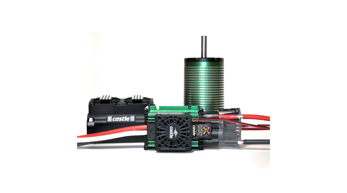 Image for 1/5 MAMBA XLX 34V, 20A Peak BEC with 2028-800Kv Motor and Fan from HorizonHobby