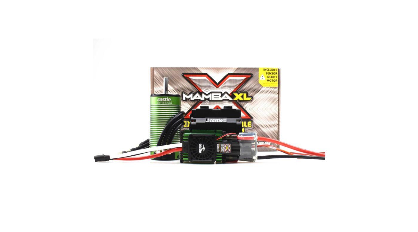Image for 1/5 Mamba XLX ESC/2028-800Kv Sensored Brushless Motor Combo: 8mm Bullet from HorizonHobby