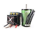 Castle Creations - 1/8 Mamba Monster X ESC/1512-1800KV Sensored Brushless Motor Combo: 6.5mm Bullet