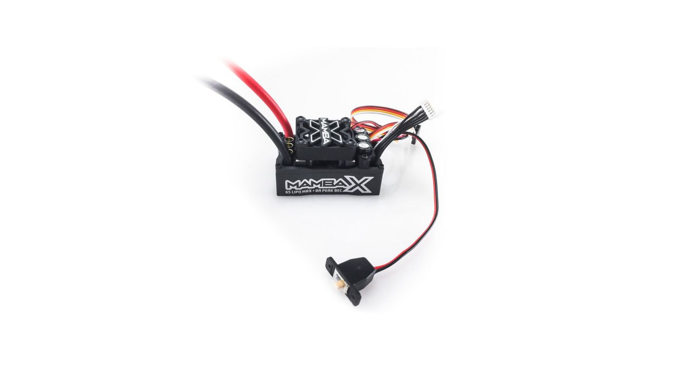 Image for 1/10 Mamba X Sensored 25.2V WP ESC 8A BEC 010015500 from HorizonHobby
