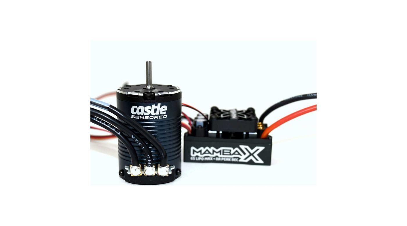 Image for MAMBA X 25.2V WP ESC 1406-3800Kv Sensored Combo from HorizonHobby