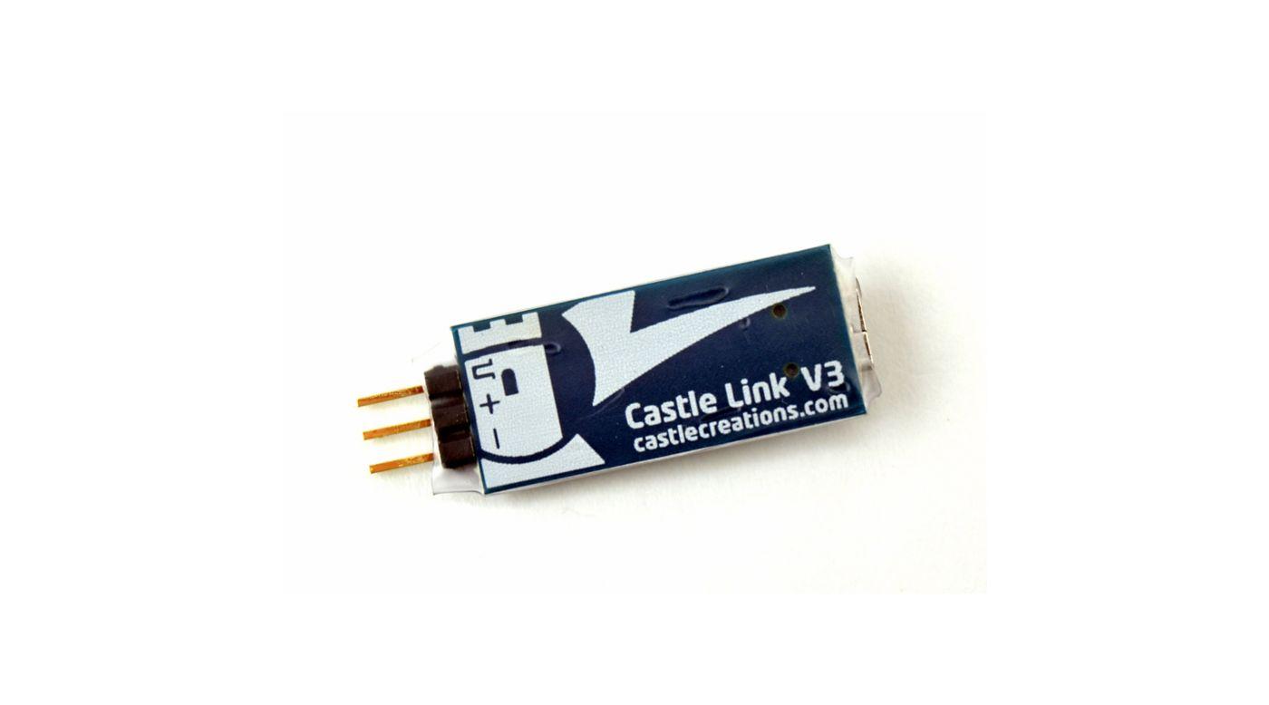 Image for Castle Link USB Programming Kit V3 011-0119-00 from Horizon Hobby