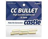 Castle Creations - 6.5mm High Current CC Bullet Connector Set