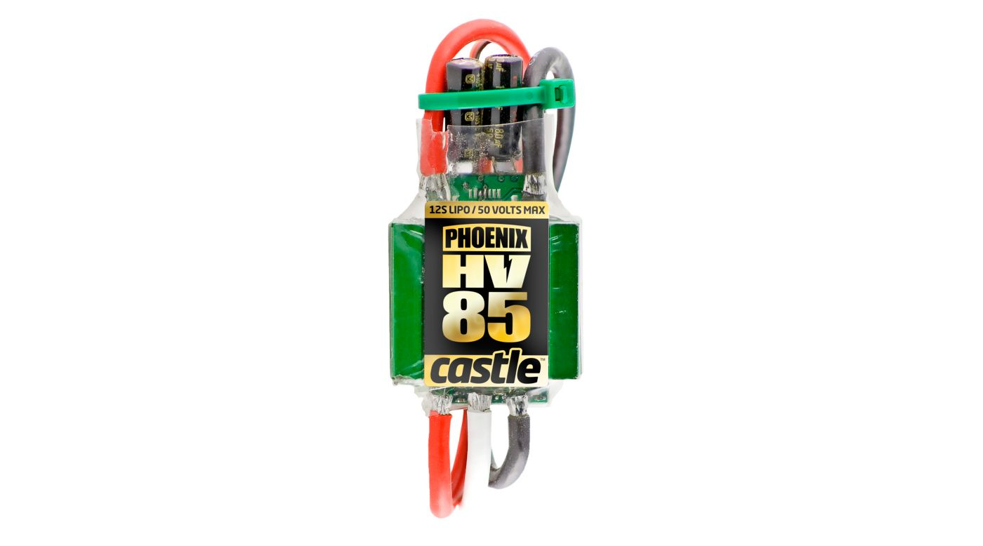 Image for Phoenix HV-85 High Voltage ESC from HorizonHobby