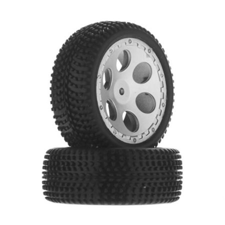 Wheel/Tire Assembled w/Foam Insert BX 4.18 (2)
