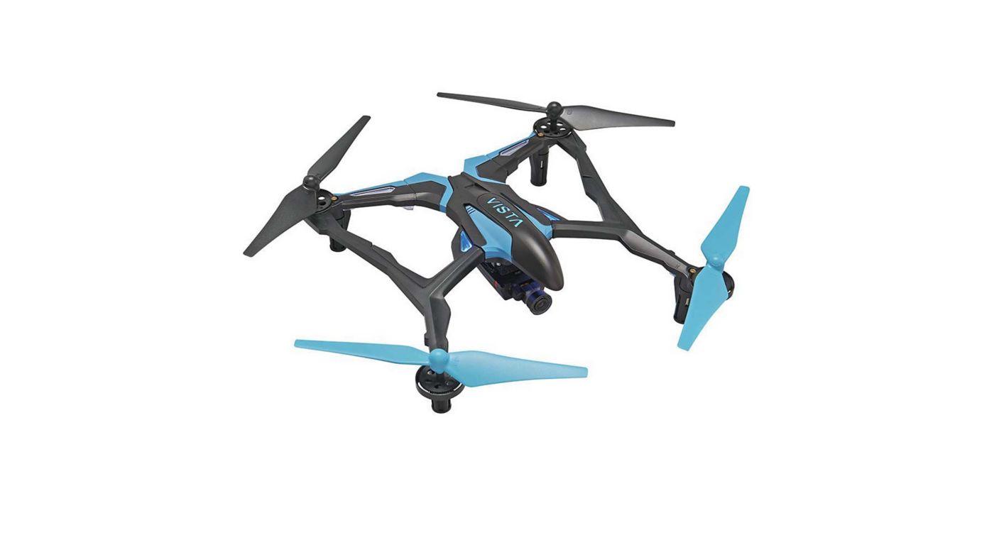 Image for Vista FPV V2 UAV Quadcopter RTF, Blue/White from HorizonHobby