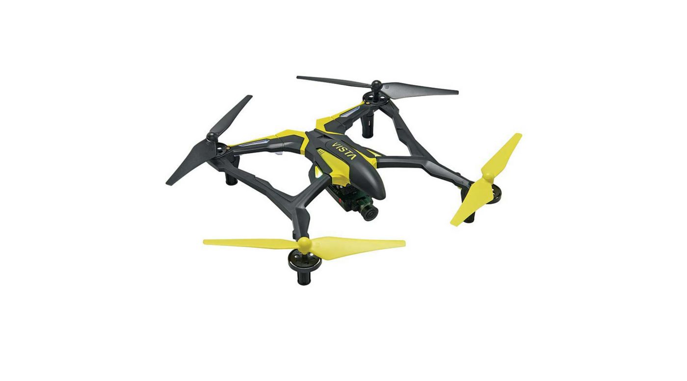 Image for Vista FPV V2 UAV Quadcopter RTF, Yellow/White from HorizonHobby