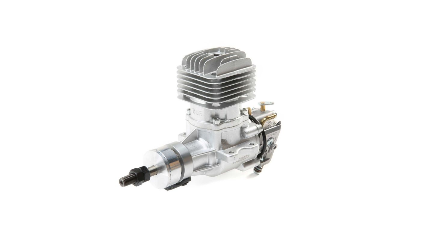 Image for DLE-20 20cc Gas Airplane Engine with Muffler from HorizonHobby