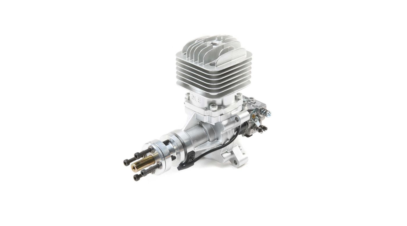 Image for DLE-30 30cc Gas Rear Carb with Electronic Ignition and Muffler from HorizonHobby