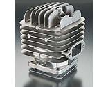 DLE ENGINES - Cylinder with Gasket: DLE-111 V2-3