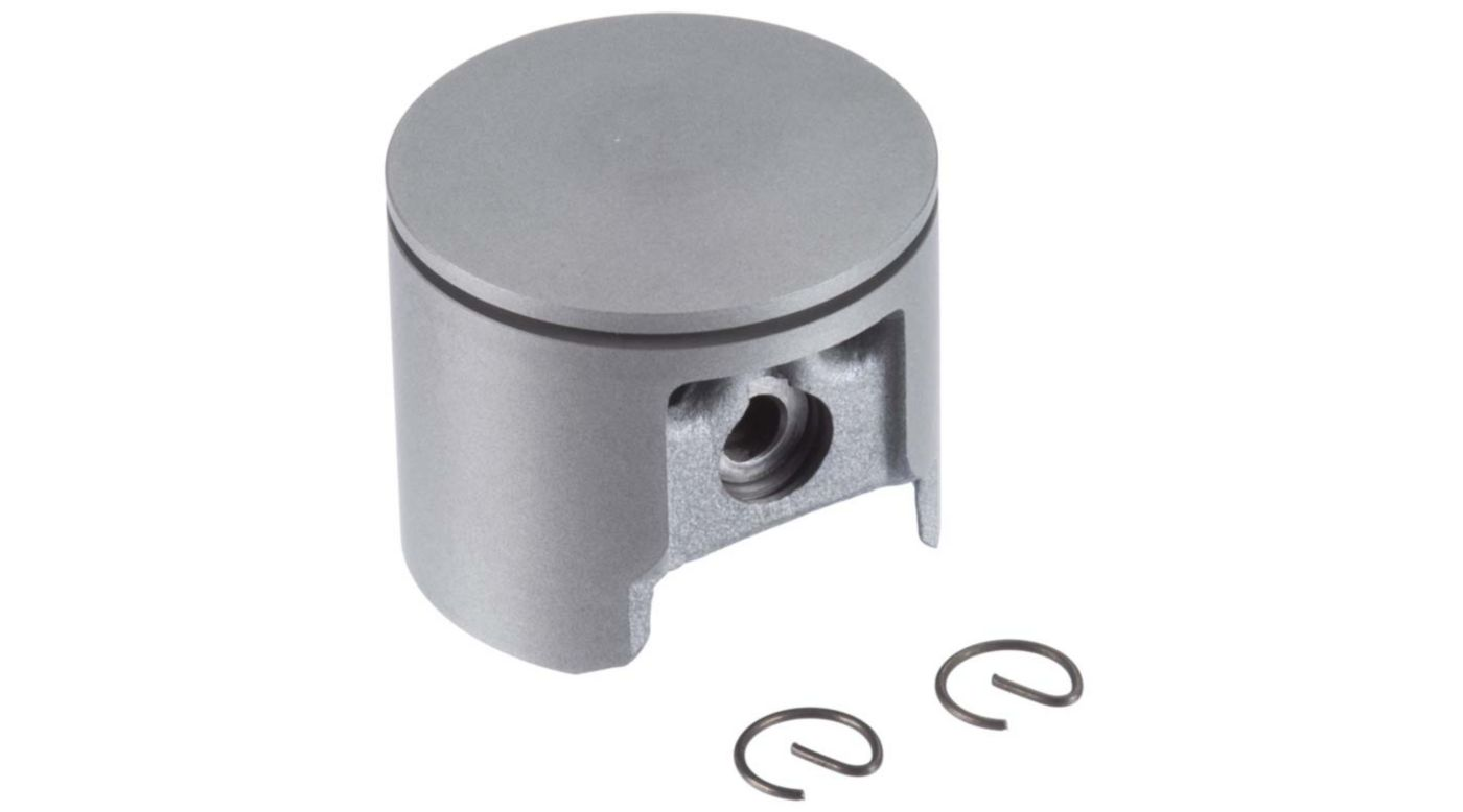 Image for Piston with Pin Retainer: DLE-120 from HorizonHobby