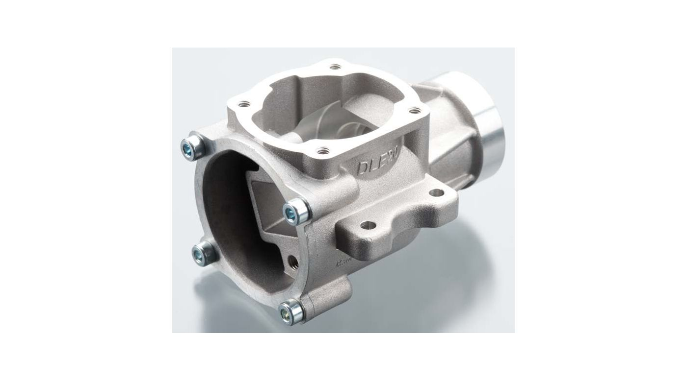 Image for Crankcase with Back Plate: DLE-20 from HorizonHobby